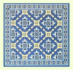 Blue-Lace design