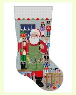 Santa-Painting design