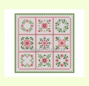 Rose-Quilt-SamplerW design