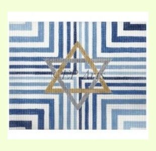 Blue-Stripe design