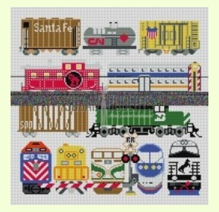 Train.-Cars design