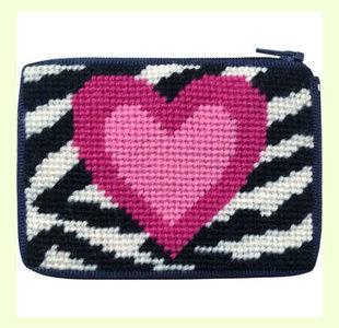 Zebra-Heart design