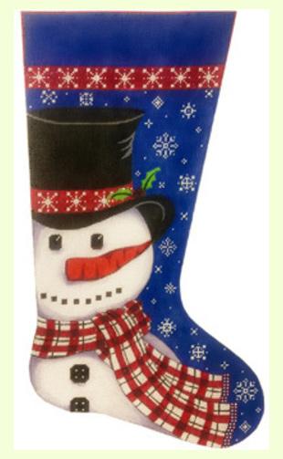 Snowman-in-Scarf design