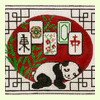 Resting Panda Mah Jongg