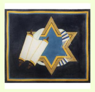 Torah-and-Scrolls-with-Stars design