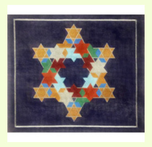 Multi-Color-Puzzle-with-Star-on-Black design