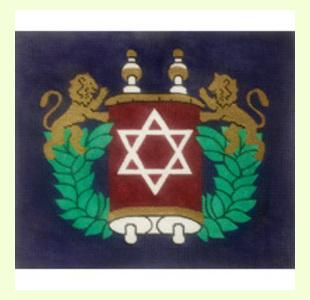 Lions-with-Torah design