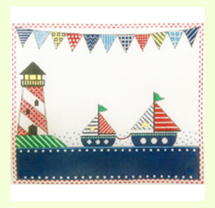 Patterned-Sailboats design