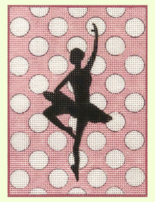 Ballet-on-Polka-Dots design