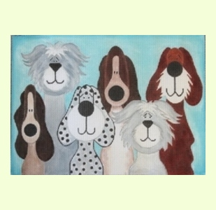 6-Whimsical-Dogs design