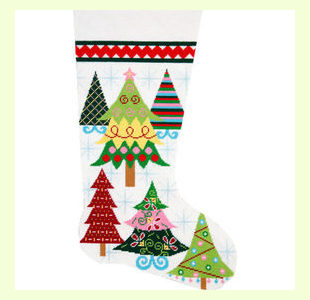 Merry-Christmas-Trees design