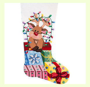 Gift-Wrapped-Reindeer design