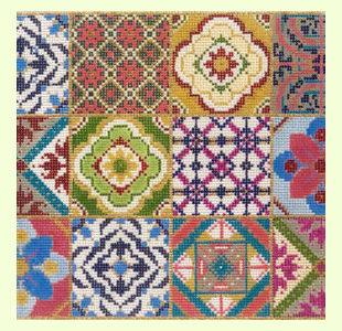 Twelve-Square-Patchwork design