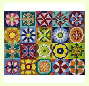 20-Square-Patchwork design