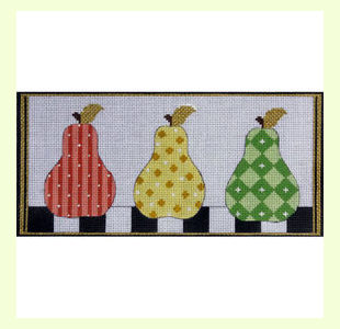 PATTERNED-PEARS design