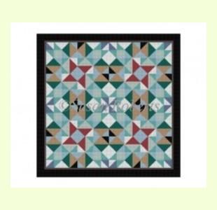 Pinwheel-Cross design