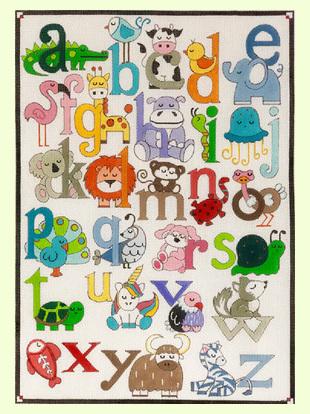 Animal Alphabet design