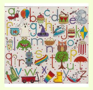 Funky-Alphabet design