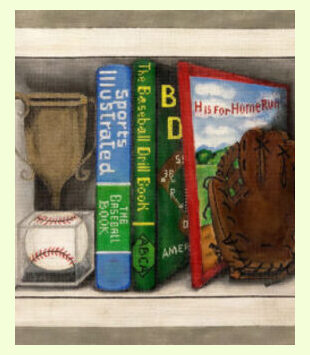 Baseball-Book-Nook design