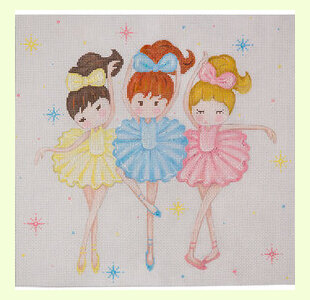 Three-Ballerinas design