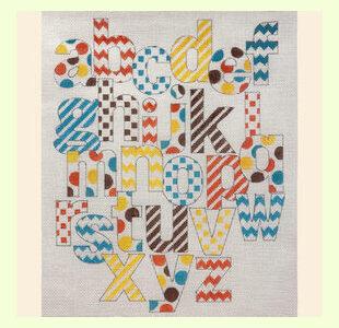 Patterned-Alphabet design