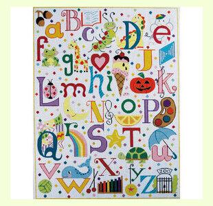 Multi-Colored-Alphabet design